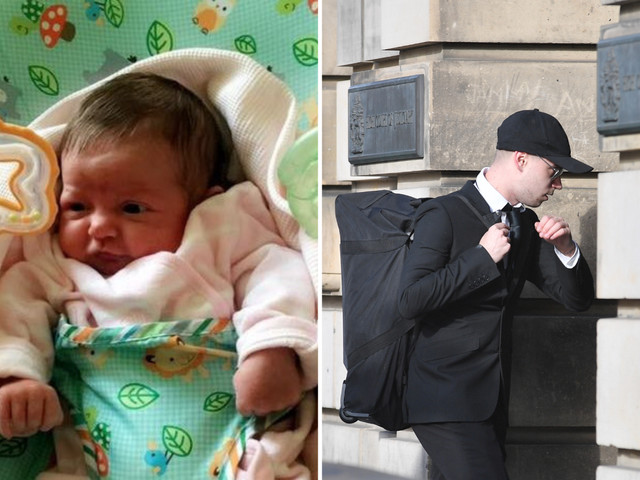 Teenage dad admits shaking his three-week-old daughter to death leaving her with a fractured skull, broken ribs and brain damage
