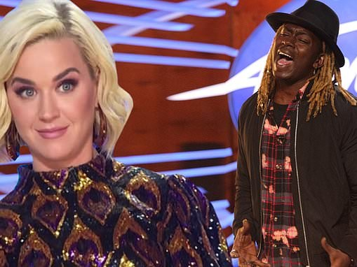 American Idol: Katy Perry tells Jovin Webb his audition 'ignited parts of me I've never felt before'