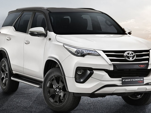 Toyota Fortuner TRD Sportivo Launched, Priced At Rs. 33.85 Lakhs