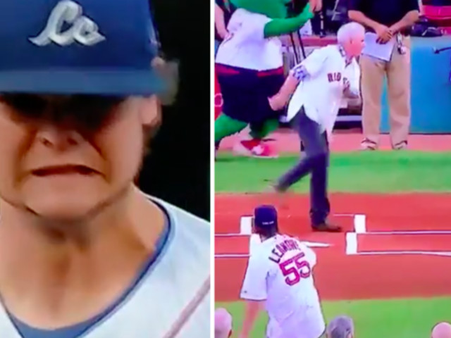 NUTS: First Pitch Fail At Red Sox Game Is Painful To Watch
