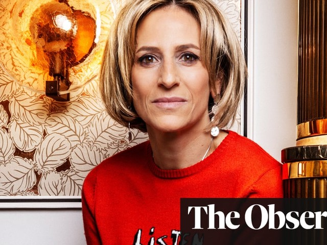 Emily Maitlis: 'I always think, Oh my God, I'm exhausted, I want vodka and bed'