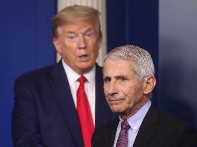 White House lashes out at Fauci, accuses him of 'playing politics' after he offered a bleak assessment of the US coronavirus response