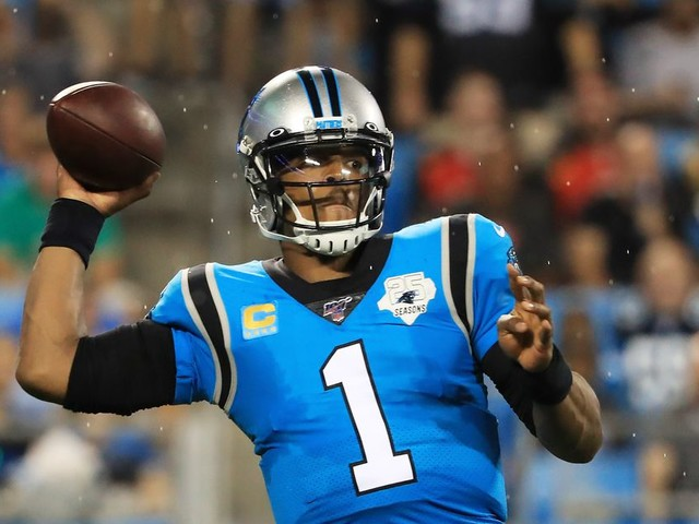 Cam Newton isn't playing like himself, but it's too soon to write him off