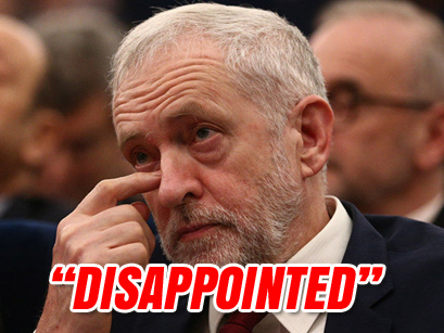 """""""Disappointed"""" Corbyn Responds to Labour MPs Quitting the Party"""