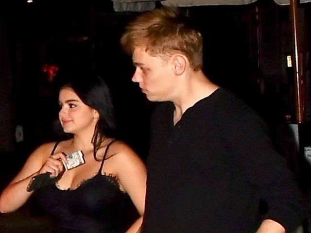 Ariel Winter Dons Little Black Dress For Date Night With Levi Meaden