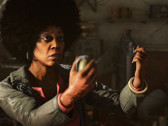 Wolfenstein 2: The New Colossus stars a colorful group of revolutionaries determined to rid the country of Nazis