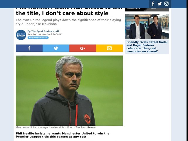 Phil Neville: I want Man United to win the title, I don't care about style