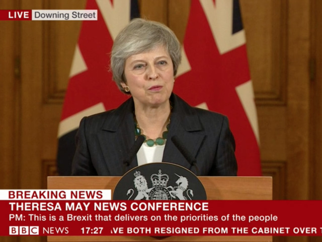 Theresa May's Statement in Full