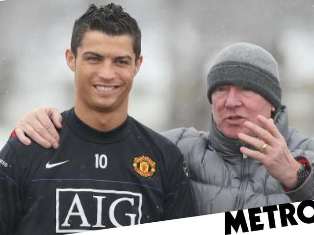 Alex Ferguson recalls not being able to stop Cristiano Ronaldo doing extra training at Man Utd