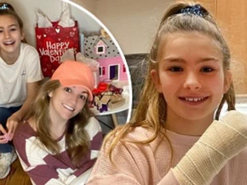 Jamie Lynn Spears' daughter Maddie breaks her wrist