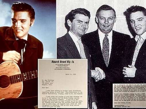 Fascinating letters reveal how record producer struggled to get Elvis Presley's music released