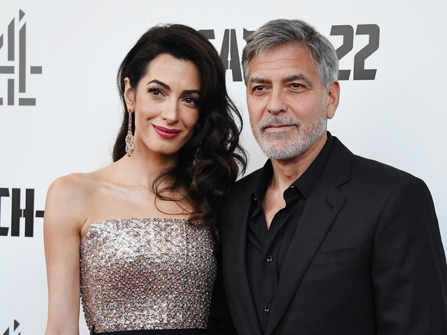 George Clooney and wife Amal dazzle at Catch 22 premiere in London