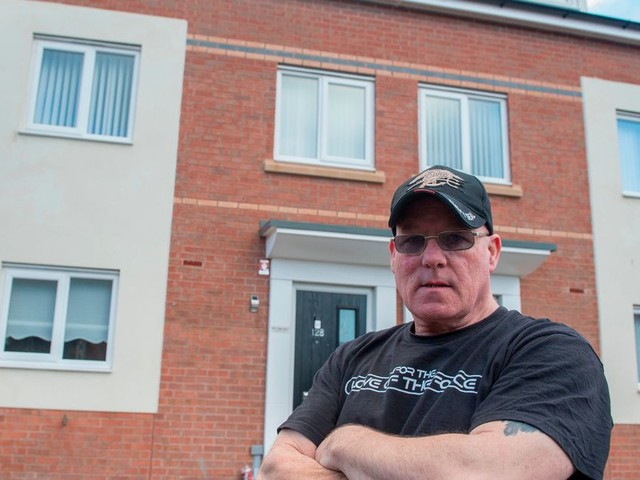 Family's £150k dream home became a nightmare with cracked walls, sinking stairs and a sodden garden