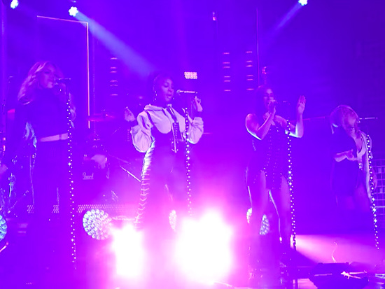 """Fifth Harmony Performs """"Down"""" On 'The Tonight Show'"""