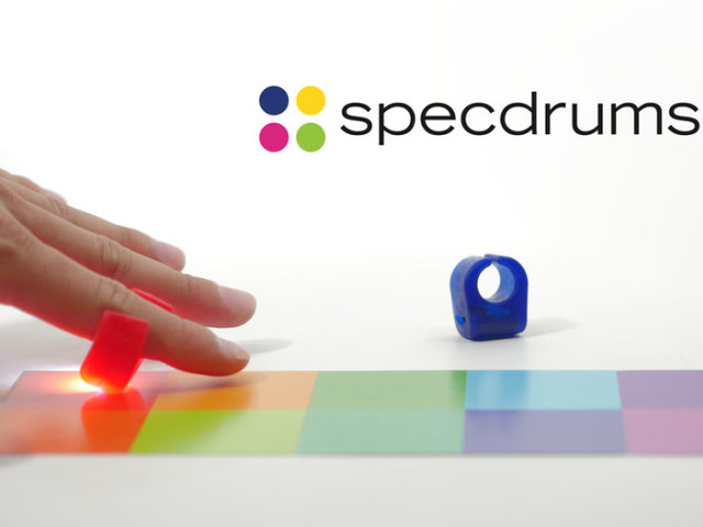 Specdrums App Connected Rings Create Beats And Sounds (video)