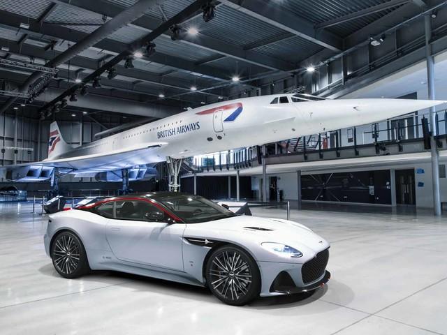 Aston Martin DBS Superleggera Concorde Edition enters production
