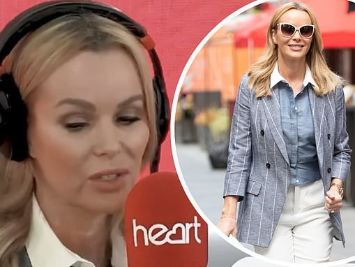Amanda Holden breaks down in tears on air honouring nurses who cared for her when son was stillborn