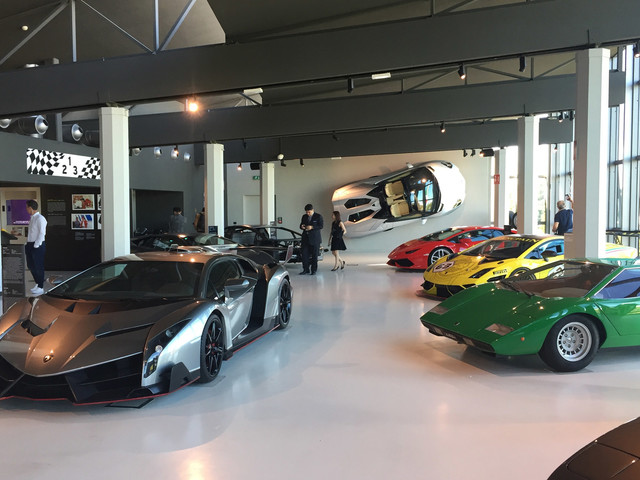 Gallery: the cars of the Lamborghini Museum