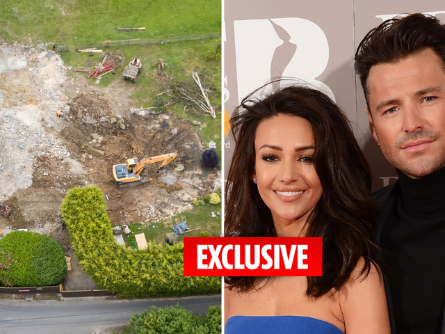 Mark Wright and Michelle Keegan demolish £1.3m Essex mansion as they begin building their huge dream home