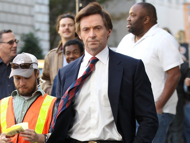 Hugh Jackman Films 'The Front Runner' in Atlanta - See Him in Character as Gary Hart!