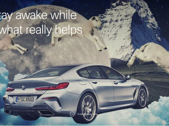 BMW Tips on How to Stay Awake on Long Trips
