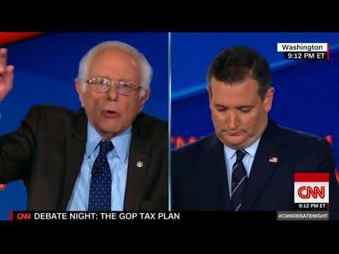 Senate Prepares For Tax Reform Vote After Heated Cruz and Sanders Debate