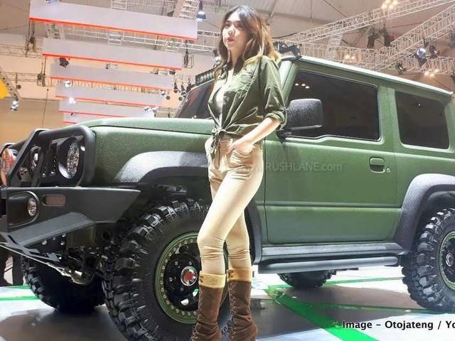 Suzuki Jimny Tough Concept SUV with 360 mm GC – Specs detailed