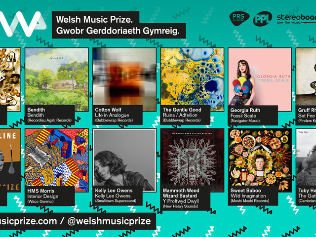 NEWS: Welsh Music Prize 2017 shortlist announced