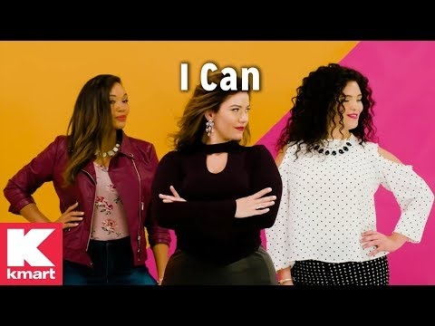 Authoritative Apparel Ads - Kmart's 'I Can' Commercial Aims to Empower Its Consumers (TrendHunter.com)