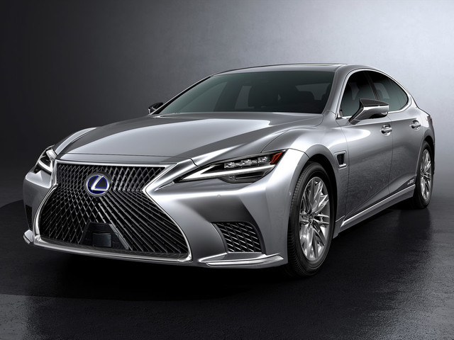 Refreshed Lexus LS revealed with new technology
