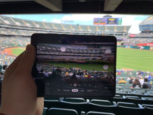 Notes from the Samsung Galaxy Fold: day six