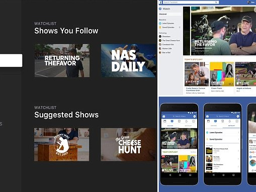 Facebook to launch redesign of video tab called 'Watch'