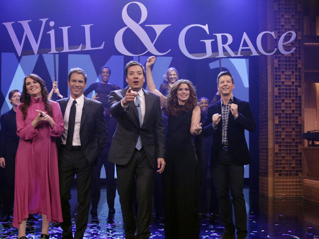 Watch 'Will & Grace' Cast Perform Show's Theme Song With Lyrics