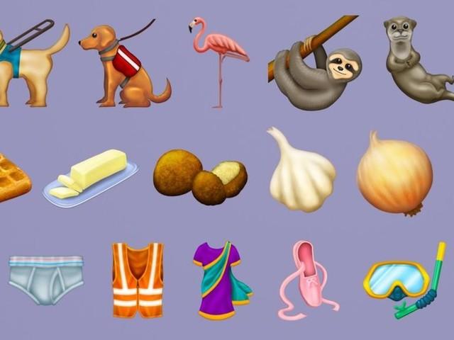 Here's every single new emoji arriving in 2019