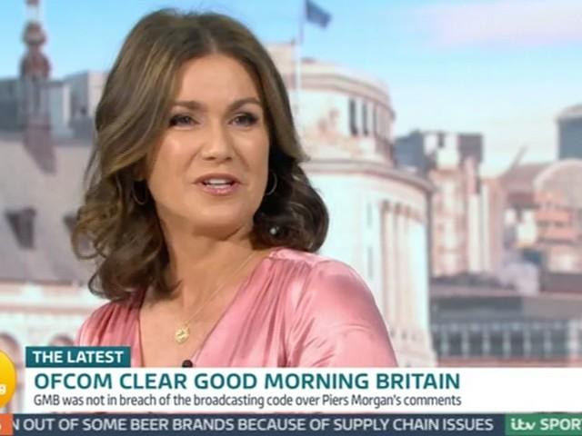 Susanna Reid Admits Feeling 'Awkward' During Piers Morgan Ofcom Discussion
