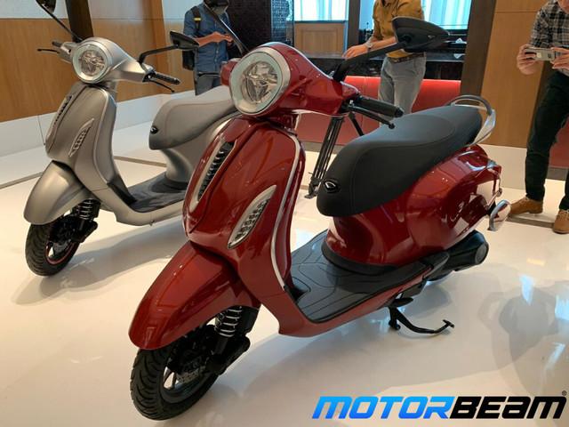 Bajaj Chetak Electric Scooter First Look [Video]