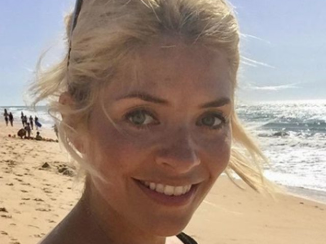 Holly Willoughby Shares Rare Family Photo As She Bids A Sad Farewell To Half Term