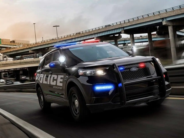 The Fastest Cop Car is Not a Car