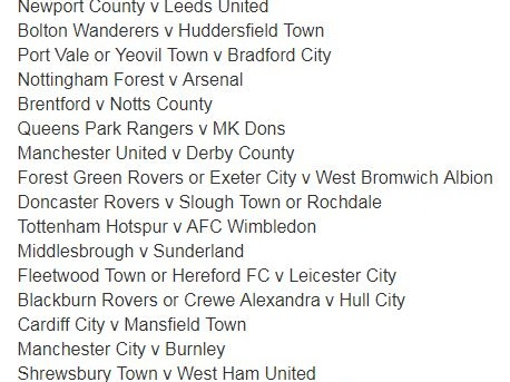 FA Cup Third Round Draw: Liverpool Host Everton In Gargantuan Clash While Holders Arsenal Travel To Nottingham Forest