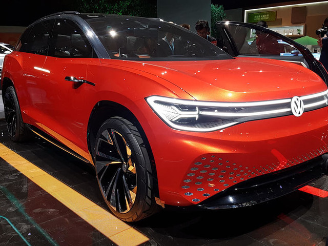Volkswagen Roomzz concept SUV revealed at 2019 Shanghai motor show