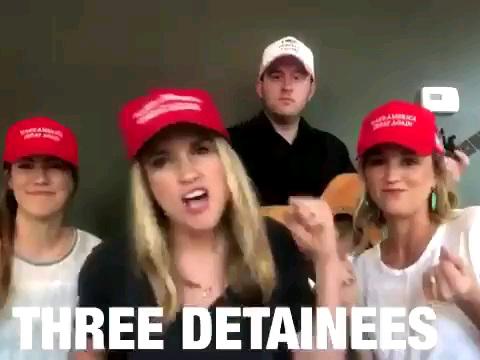 Just seen this Trump train anthem