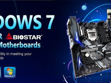 BIOSTAR Brings Windows 7 To Intel's B365 Platform: A Core i9-9900K w/ Win7, Anyone?