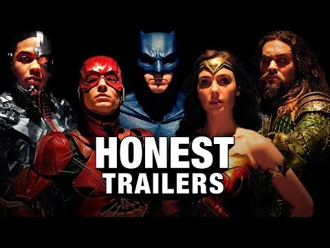 The Honest Trailer For Justice League Reminds You About The Film's Existence