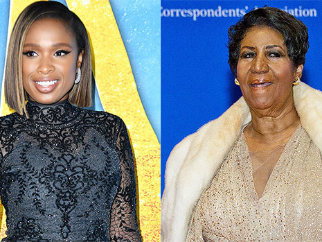 Jennifer Hudson Drops Incredible Cover Of Aretha Franklin's 'Natural Woman' Ahead Of Biopic
