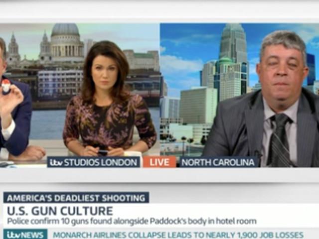 Piers Morgan Enraged By Pro-Gun Campaigner Dan Roberts On GMB Following Las Vegas Attack