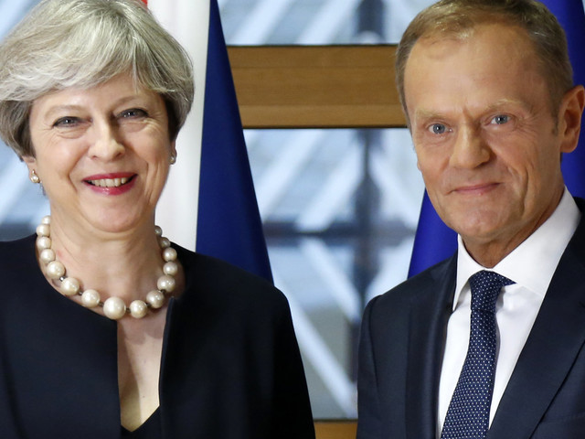 Theresa May Trolled Over Brexit By EU President Donald Tusk With John Lennon Lyric