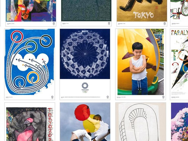 Here are 4 of our favorite posters for the 2020 Toyko Olympics