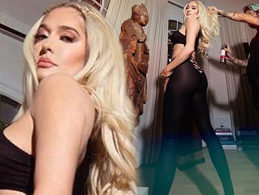 Erika Jayne dares 'gullible' Instagram followers to comment on saucy glam snap amid divorce
