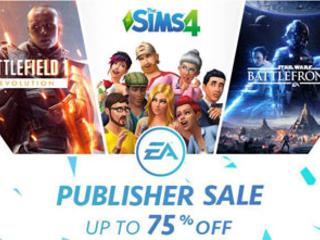 EA Publisher Sale offers deep discounts via Origin store