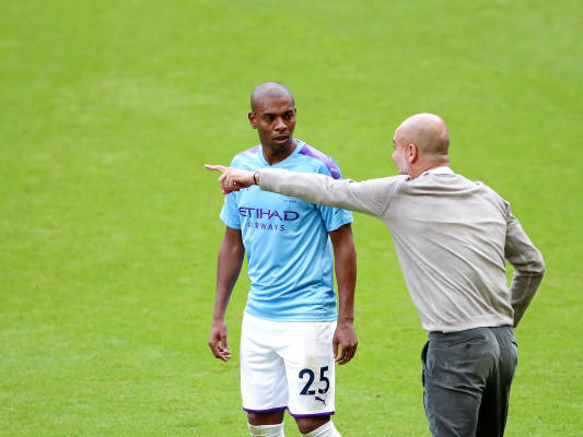 Report: Manchester City star in line for new deal after filling Kompany void